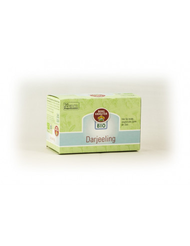 Darjeeling BIO-Schwarztee Doppelkammer-Teebeutel