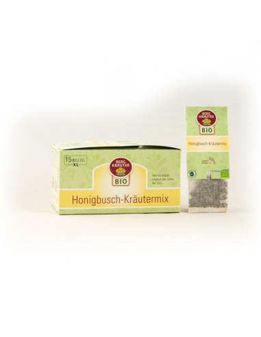 Honigbusch-Kräutermix BIO XL Teebeutel