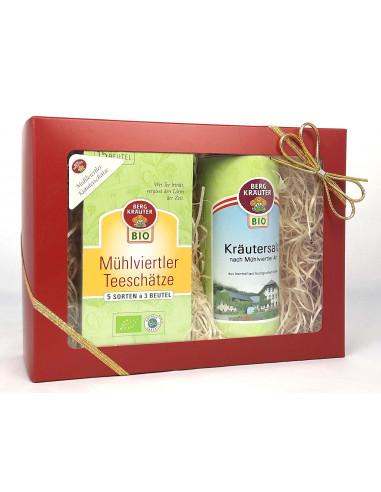 """Geschenkset """"Mühlviertler Kräuterschätze"""" BIO"""